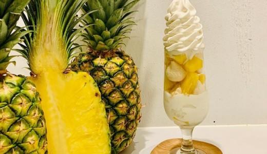 ツルカフェのソフトクリームに新フレーバー『パイナップル&ココナッツ』が登場!