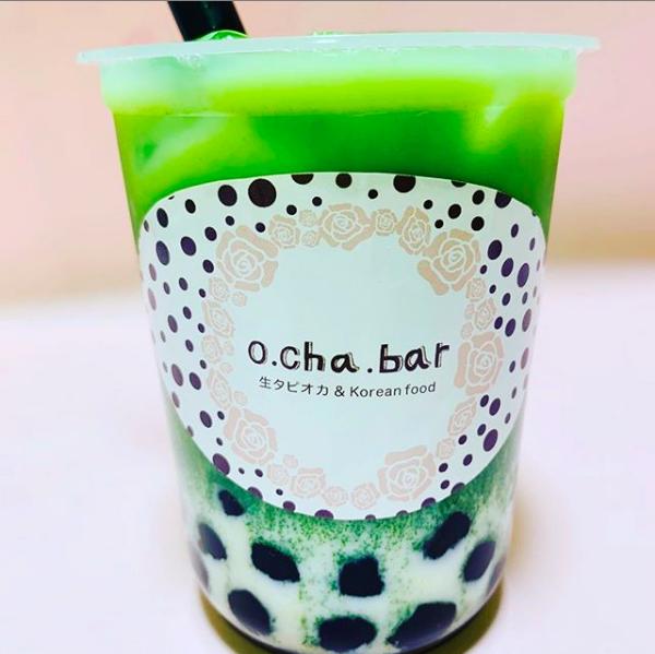 o cha bar(オチャバー)のタピオカドリンク
