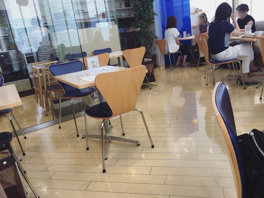 カフェ ゆとりの空間 大丸札幌店の店内