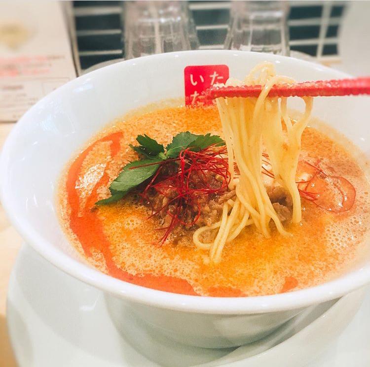 担々麺専門店『麵や椒(いただき)』の濃厚担々麺