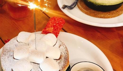 なないろカフェ シェリーのポッケにて誕生日月だとスフレパンケーキ or ワッフルが無料で食べれるぞっ