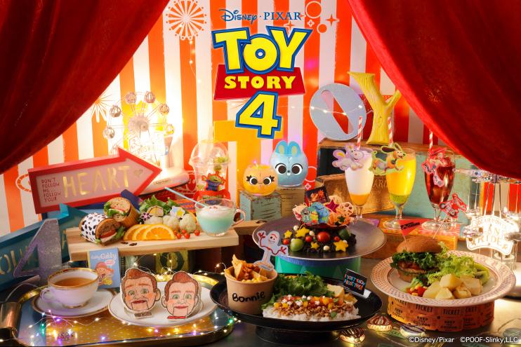トイ・ストーリー4の公開を記念して、インターリュードカフェで「トイ・ストーリー4」OH MY CAFEがオープン!!