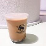Pearl Lion(パールライオン)の黒糖ミルクティータピオカドリンク