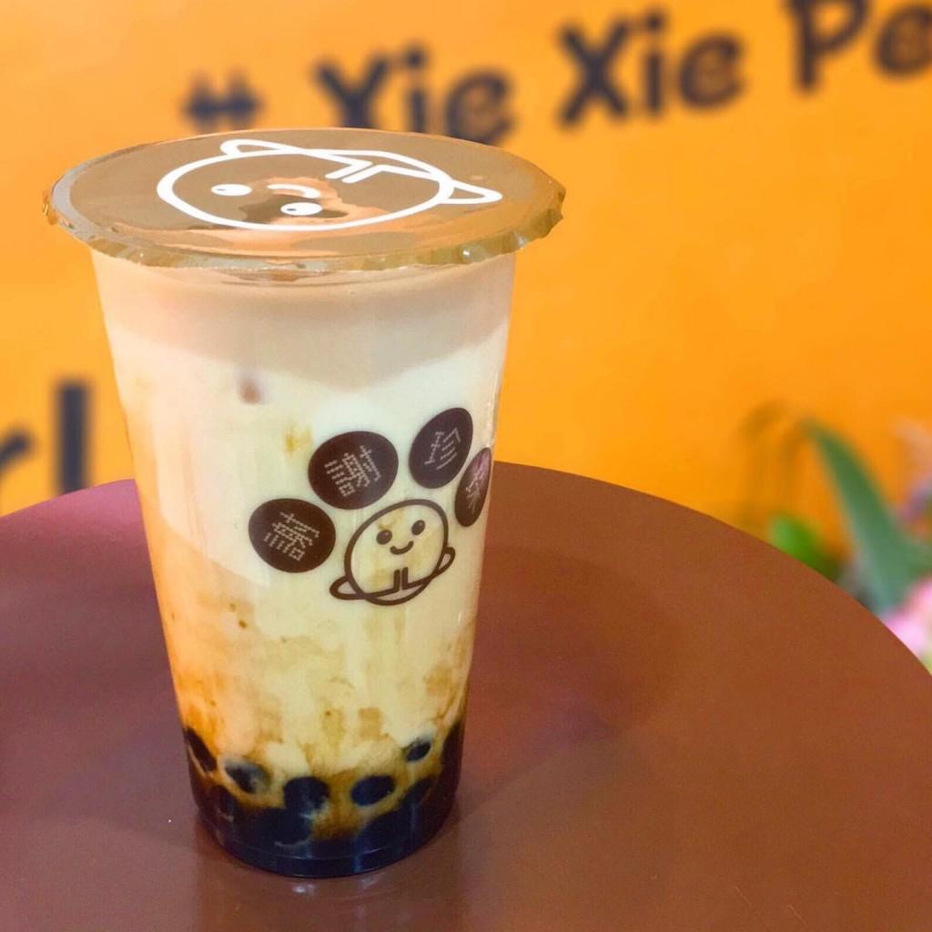 謝謝珍珠(シェイシェイパール) 札幌店の極 黒糖ほうじ茶ミルクティー