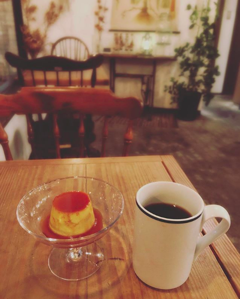 カフェ トコシエのプリン
