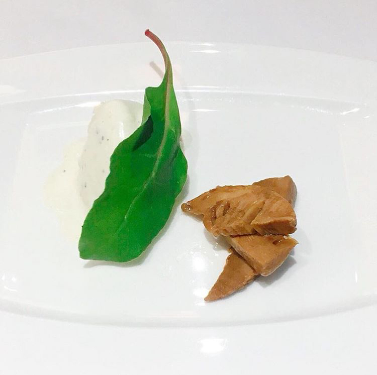 セットランチコースの前菜