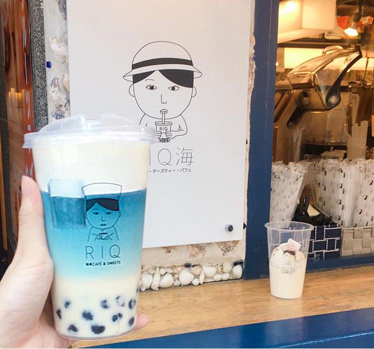 【RIQ(りきゅう)海】RIQ(りきゅう)の2号店!タピオカ・チーズティー・パフェを提供
