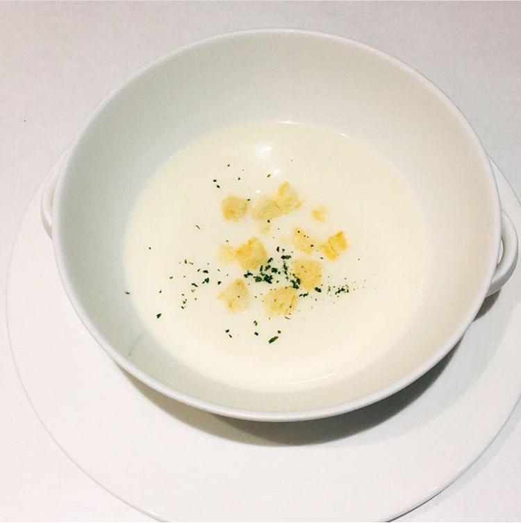 セットランチコースのスープ