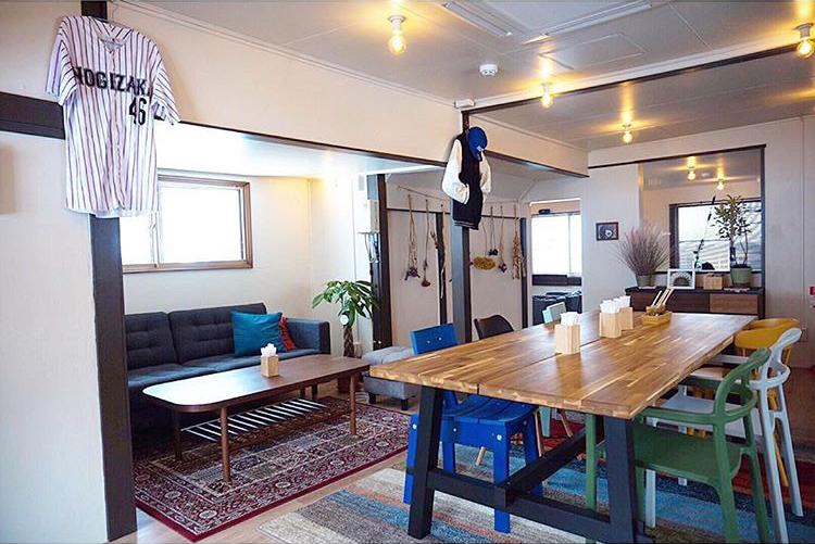 乃木坂な妻たちのカフェスペース