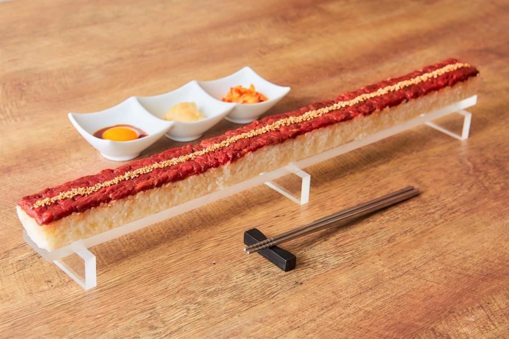 紅音 札幌すすきの店のロングユッケ寿司