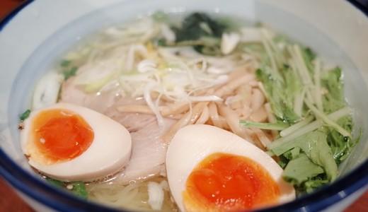 ラーメン鴨鍋 純平が、夜限定で塩ラーメン500円イベントを開催!