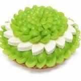 カフェコムサ札幌東急店のオープン記念限定ケーキ『シャインマスカットと北海道産クリームチーズのケーキ』