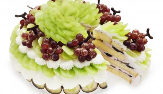 カフェコムサで3種のぶどうを使ったショートケーキが8月22日限定で発売!