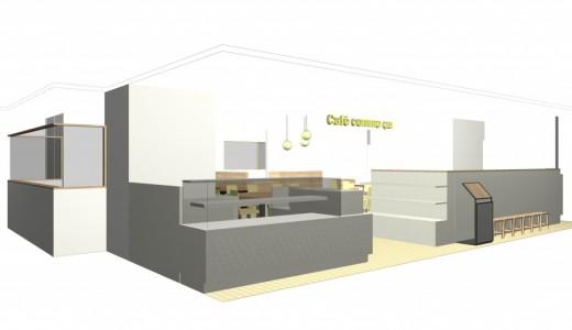 【カフェコムサ 札幌東急店】さっぽろ東急百貨店にアートケーキを提供するカフェコムサが新店をオープン!
