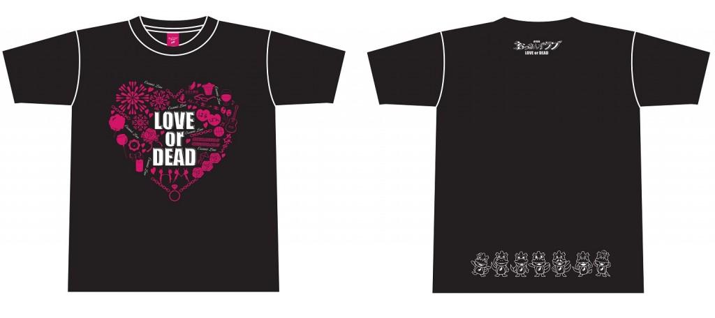 Tシャツ(黒) 価格:各3,000円