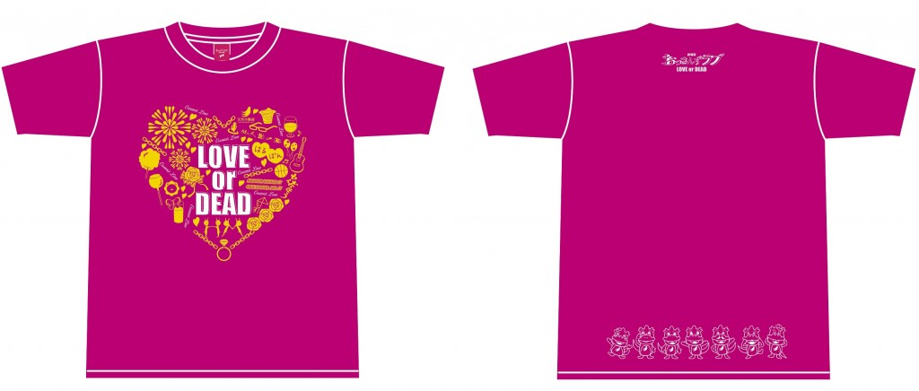Tシャツ(ピンク) 価格:各3,000円
