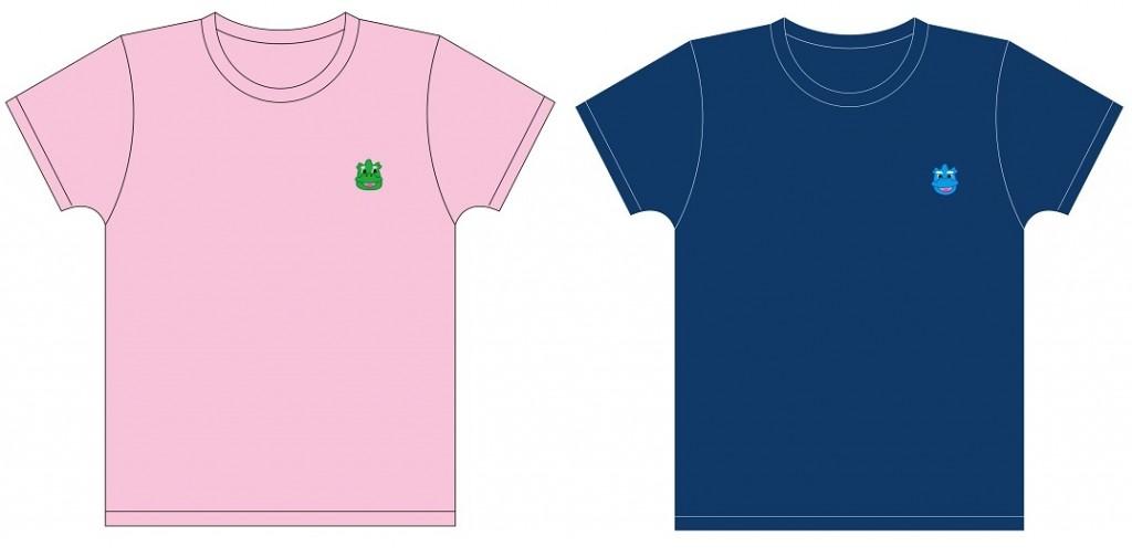 Tシャツ(ピンク/ネイビー) 価格:各3,500円