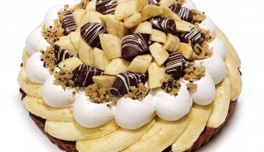 カフェコムサがバナナの日に合わせ店舗限定のバナナケーキを販売!