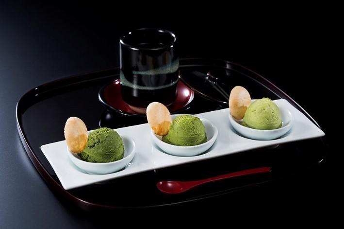 宇治抹茶アイスクリーム食べ比べセット