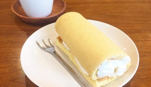 ※閉店【ハレル屋】注文を受けてから巻いてくれるふわふわロールケーキが食べれるバスセンター前駅近くのスイーツ店