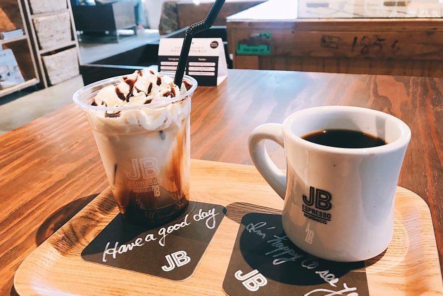 JB ESPRESSO MORIHICO.新道東駅前店のコーヒー