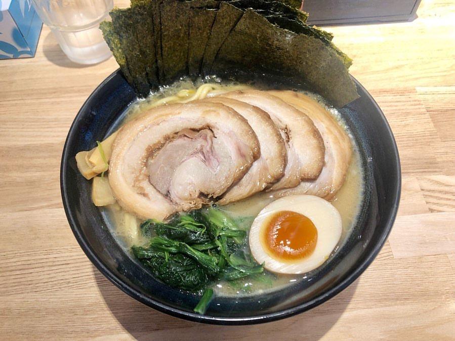 らーめん麺GO家 白石店の家系ラーメン