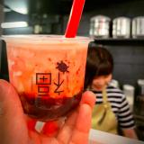 タピオカ専門店の札幌福茶のタピオカドリンク