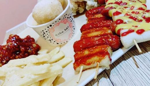 o cha bar(オチャバー)の人気韓国フードを盛り合わせた『モッパンセット』がお得すぎるぞっ!