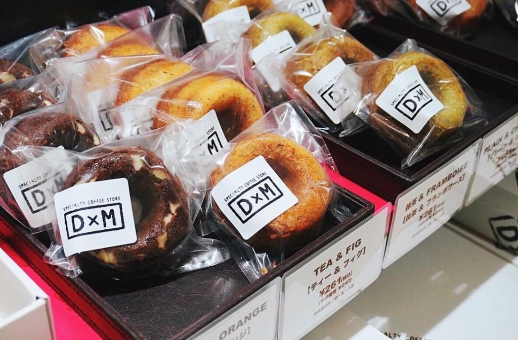 D×M(ダヴィデドーナツ)で販売しているドーナツ