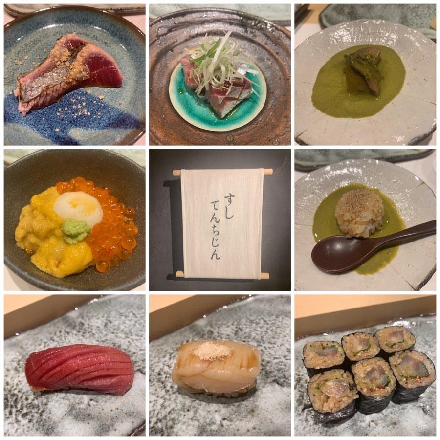 すしてんちじんのお寿司