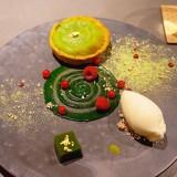 SABO SAPPORO TEA SALONのタルトレットデセールコース 【抹茶】