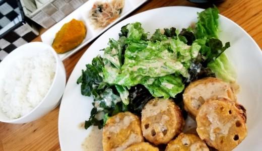 【母庵】前菜・コーヒー・デザートもついて500円のボリュームランチを提供する厚別区カフェ