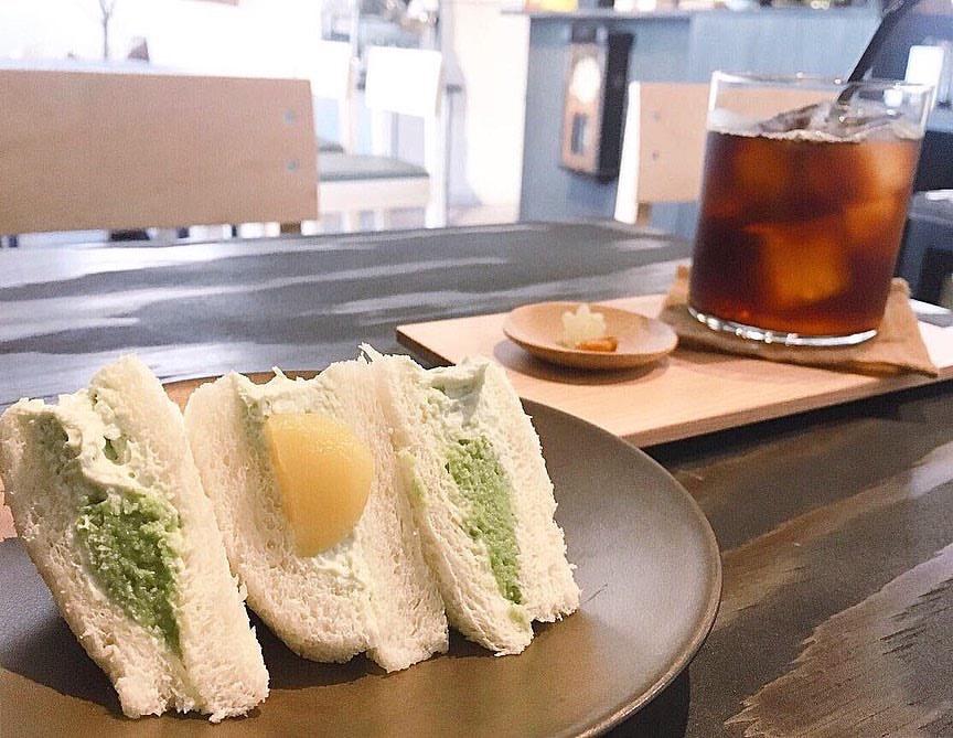【コーヒー屋さん 月祭(つきさい)】ずんだを使用したサンドが食べれる北12条の和風カフェ!