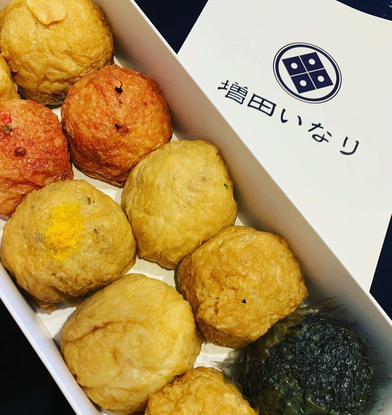 増田いなりのいなり寿司各種