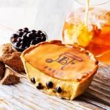 パブロチーズタルト小さいサイズ―黒糖タピオカミルクティー―