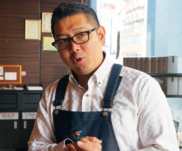 後藤 栄二郎氏