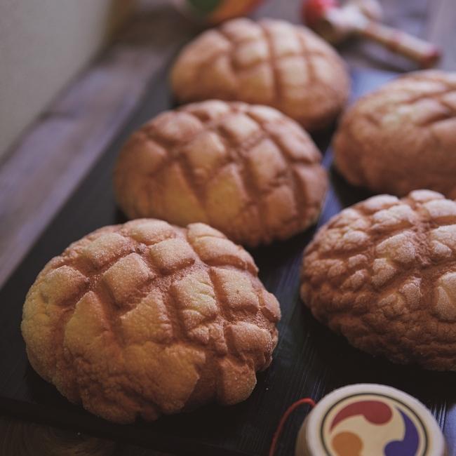 浅草 花月堂のメロンパン