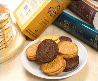 ケイクテイルのパンケーキクッキー