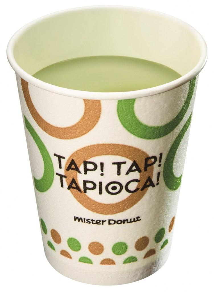 タピオカ ホット抹茶ミルク