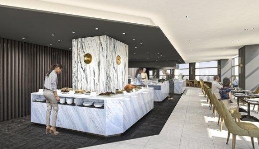 【ハレアス】地上115mの絶景を楽しめる厚別レストラン!朝食やランチビュッフェも用意!