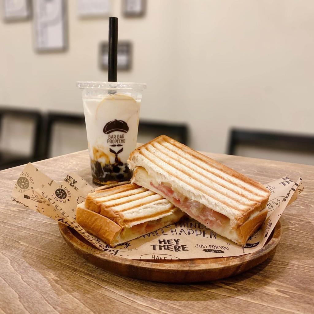 【タピオカ プロペッチョ】牡蠣屋からできたすすきののタピオカ専門店!ホットサンドも食べれる!