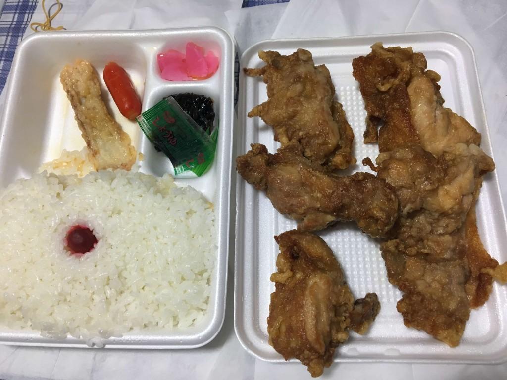 BENTO FACTORY(べんとう ふぁくとりー) ヤムヤムで買ったザンギ弁当の内容