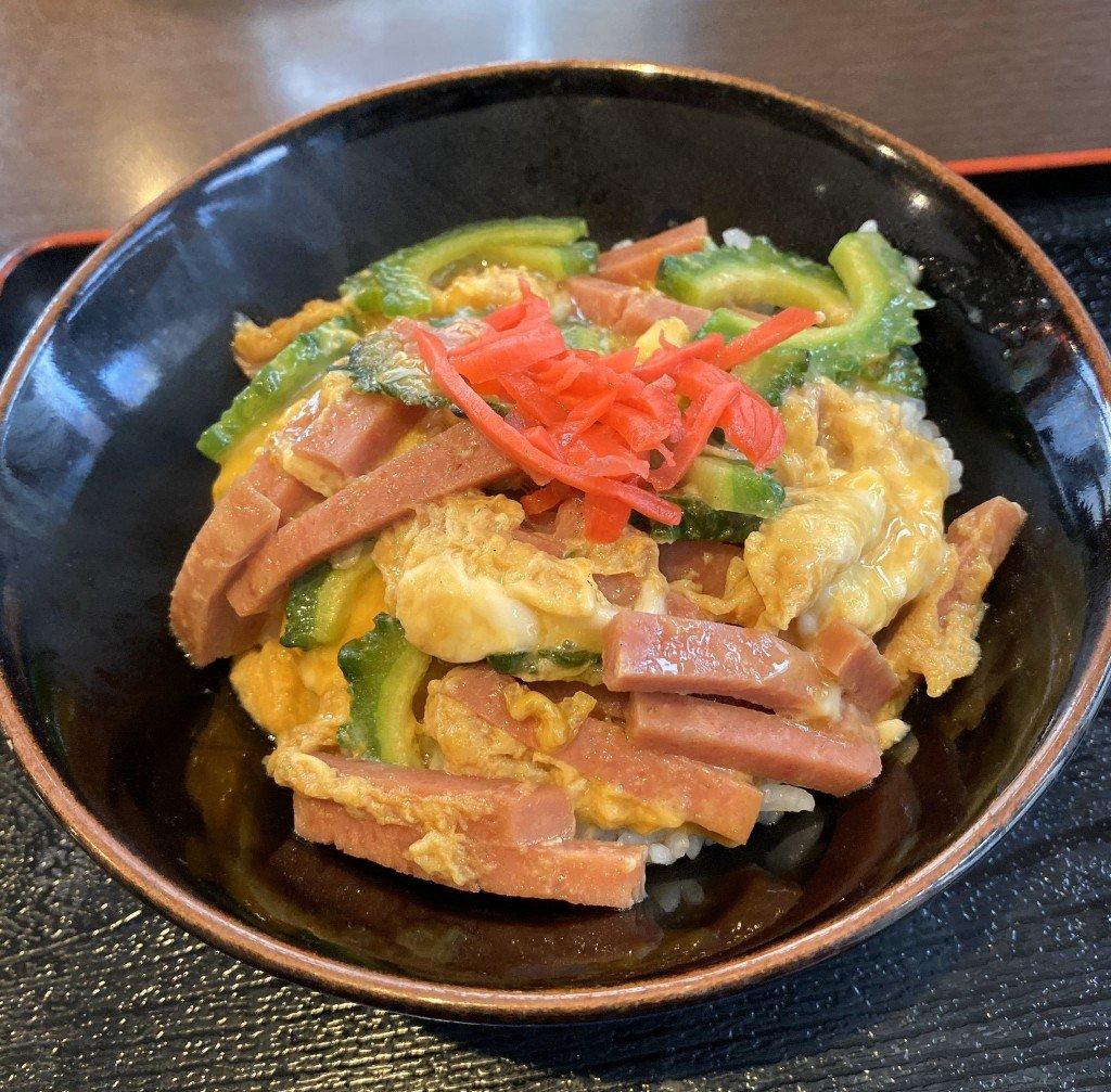 沖縄&北海道DININGうちなぁーのゴーヤー丼