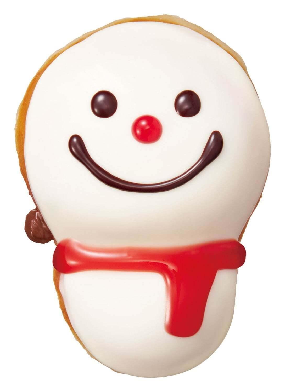 クリスピー・クリーム・ドーナツのチョコ ベビー スノーマン