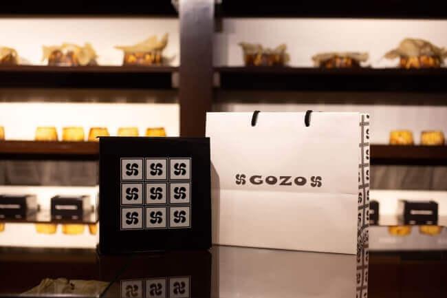 GOZO(ゴソ)のバスクチーズケーキ