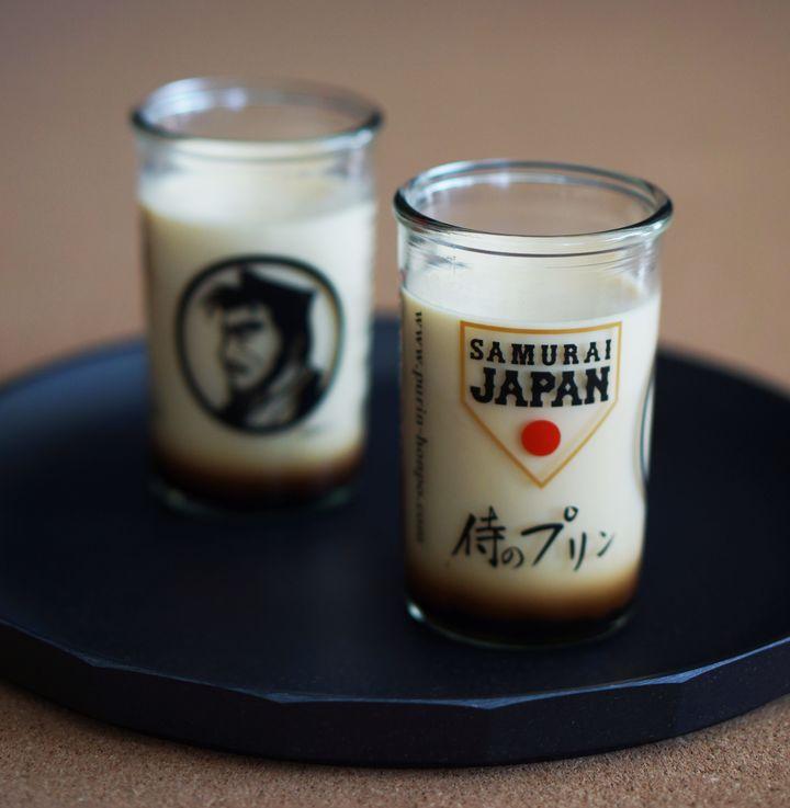 侍ジャパンとコラボした侍のプリン