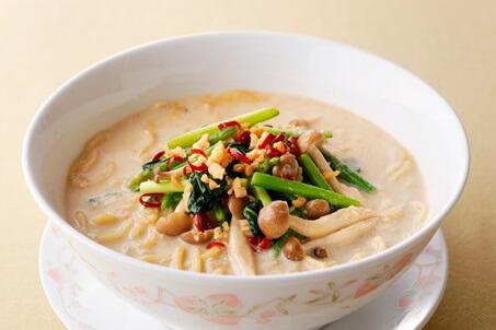 豆乳入りタンタン麺