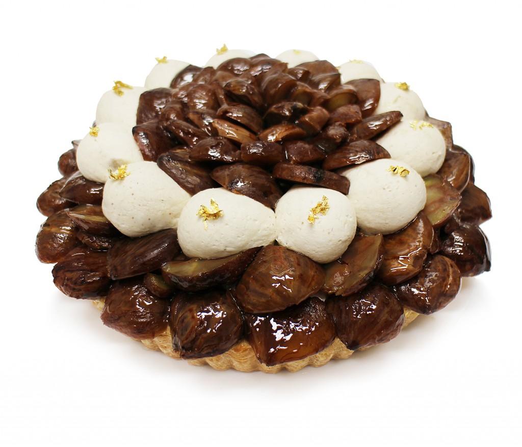 熊本県 山江村産「やまえ栗」のケーキ