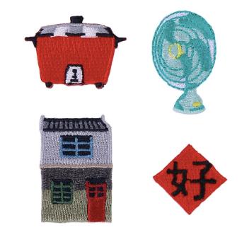 台湾百景刺繍ピンバッチボックス(Mogu)」