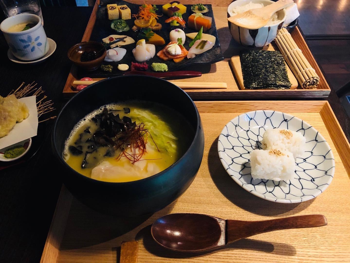 かまだ茶寮 円山の『北海道米麺 フォー』